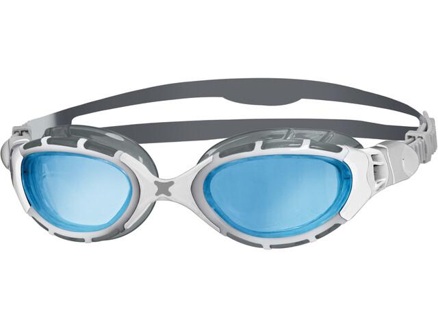Zoggs Predator Flex Goggles grey/white/tint